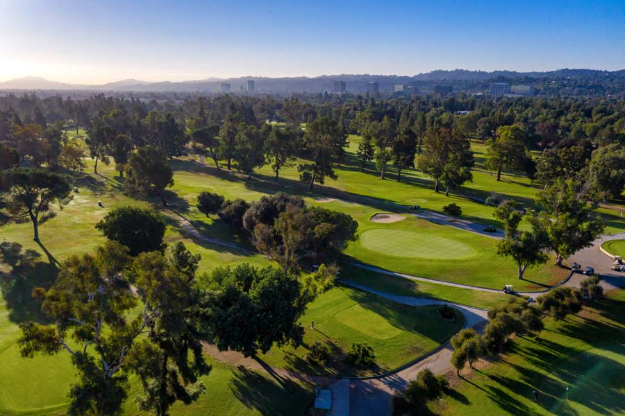 Balboa Golf Course Los Angeles City Golf